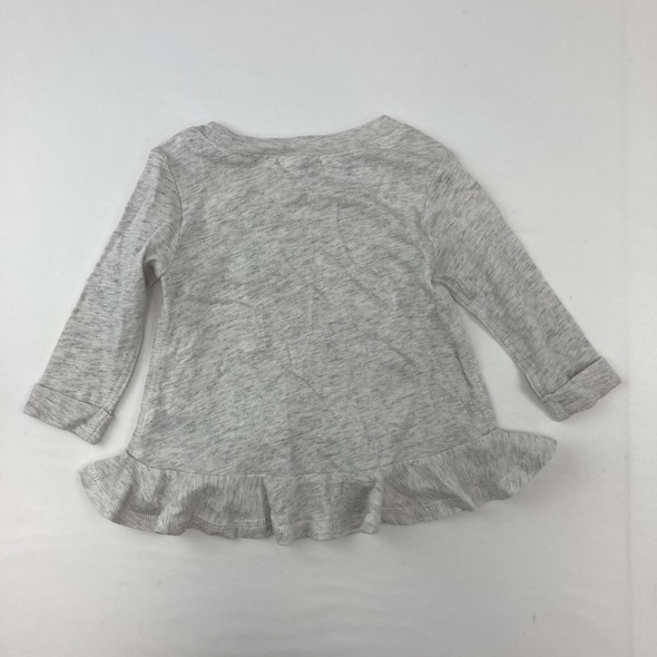 Classic Gray Long Sleeve 3-6 mth