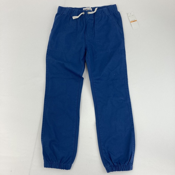 Blue Khaki Joggers 7 yr