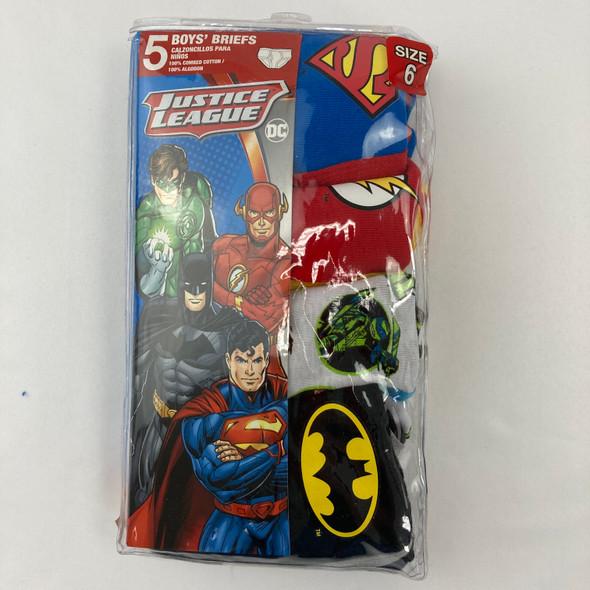 4-pk Justice League Briefs 6 yr