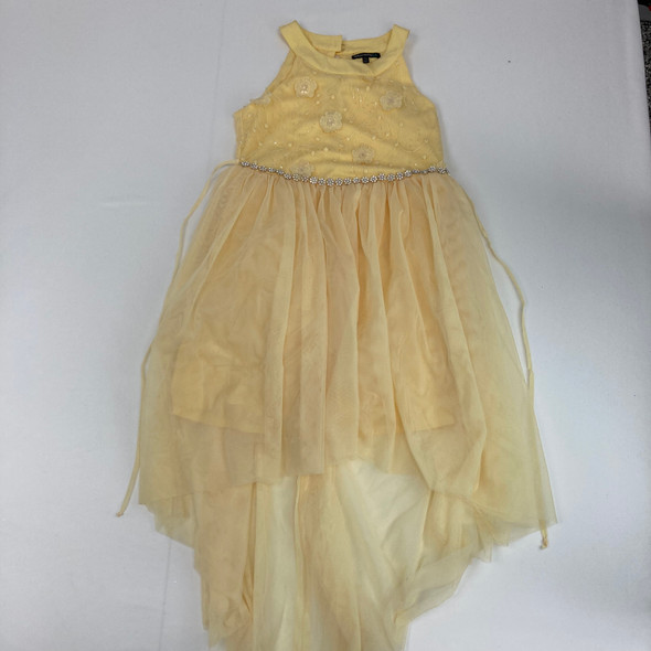 Yellow Floral Dress 12.5 yr
