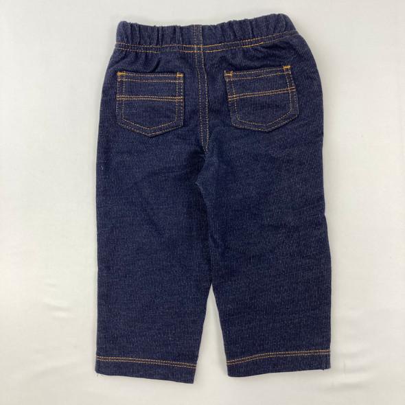 Faux-denim Pants 9 mth