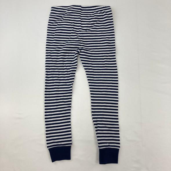 Navy Stripped Sleep Pants 4T