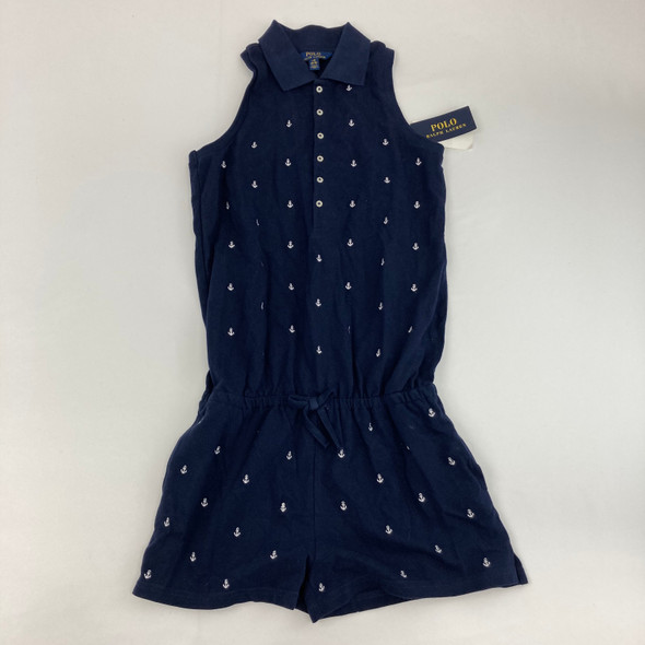 Navy Anchor 1pc Large 14-16 yr