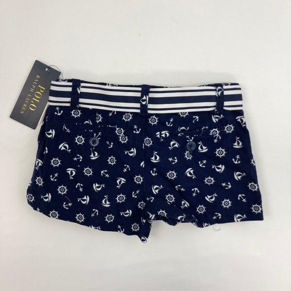 Sailor Blue Shorts 4/4T