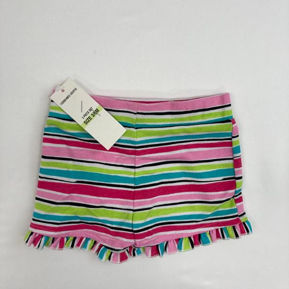 Stripe Short 3-6 mth