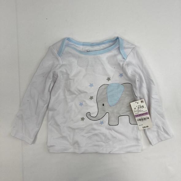 Elephant Top 6-9 mth