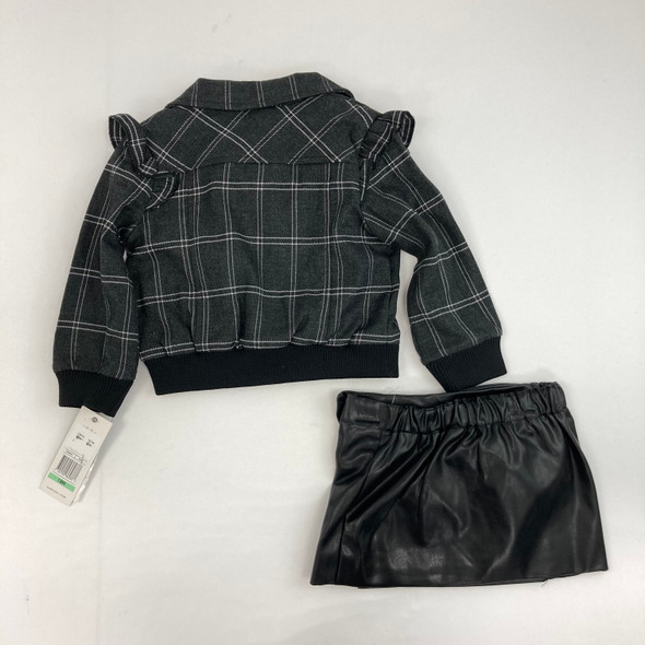 Faux Leather 3-pc 18 mth