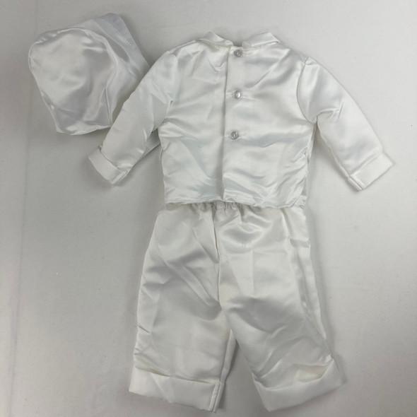 Christening White Dress Set 6-9 mth