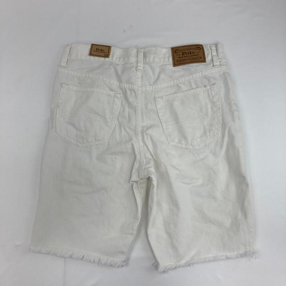 White Denim Shorts 18 yr