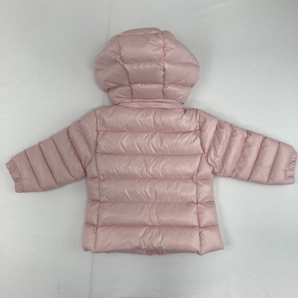 Hint Of Pink Puffer Jacket 12 mth