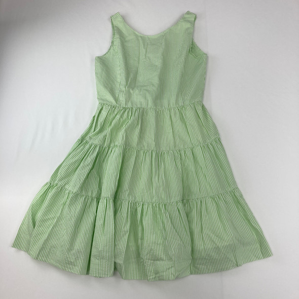 Green Stripe Dress 16 yr