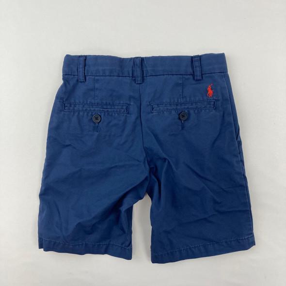 Blue Polo Shorts 4T