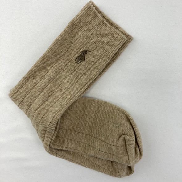 1-Pair Tan Socks Medium
