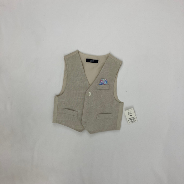 Tan Sweater Vest 18 mth