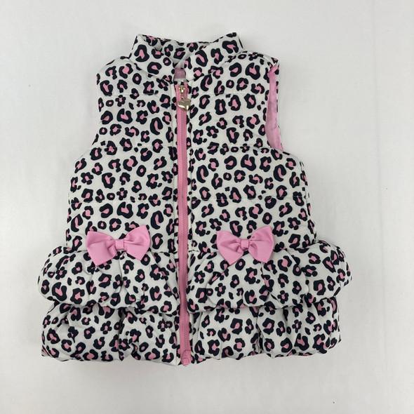 Cheetah Print Vest 4T