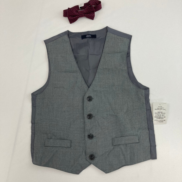 Light Gray Vest and Tie 7 yr
