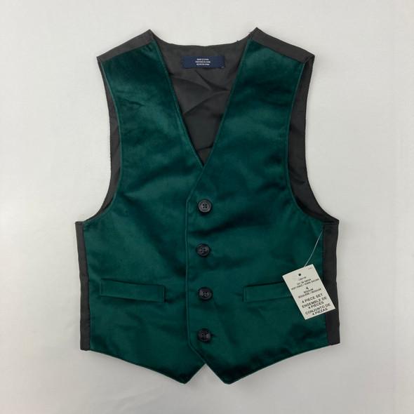 Holiday Velvet Vest 4 yr