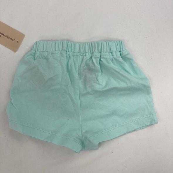 Aqua Tint Shorts 6-9 mth