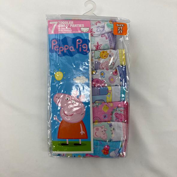 7-Pack Peppa Pig Underwear 2T-3T