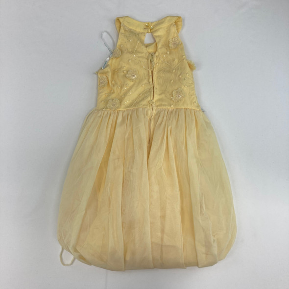 Floral Yellow Dress 10 yr