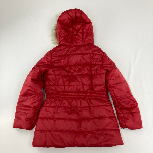 Quilted Red Jacket 8-10 yr