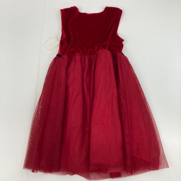Red Velvet Holiday Dress 6X