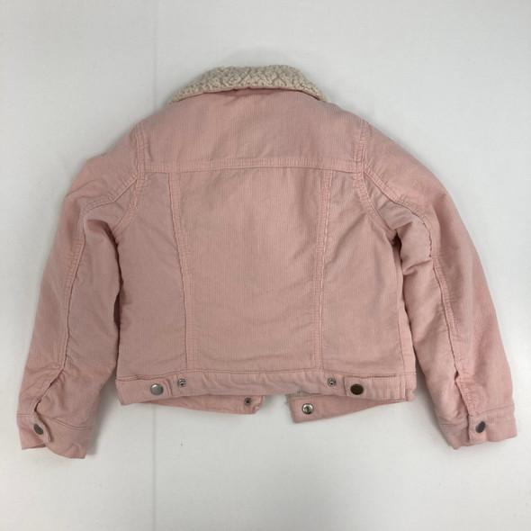 Pink Corduroy Jacket Small