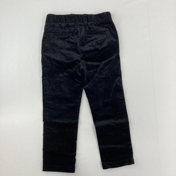 Black Velvet Pants 4T