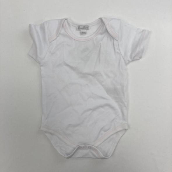 White Bodysuit 6-9 mth