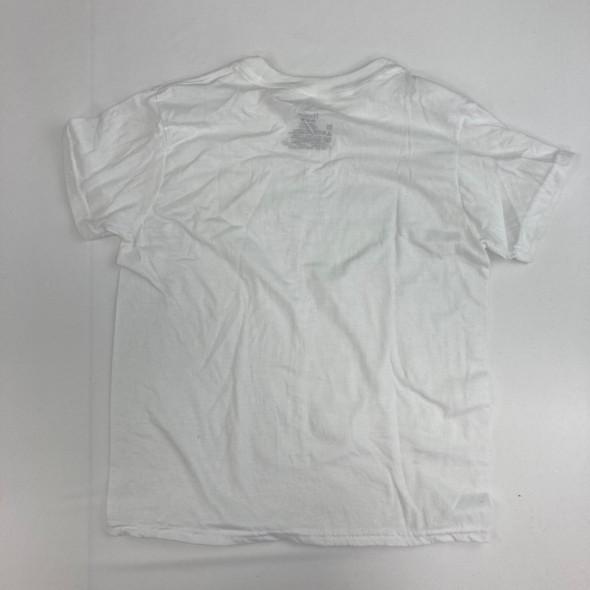 Solid White Undershirt Medium