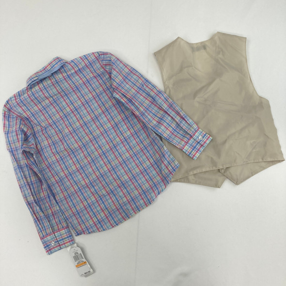 Dress Top With Vest 7 yr