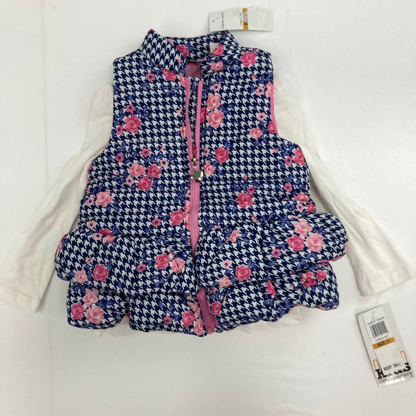 2-pc  Houndstooth Print 3T