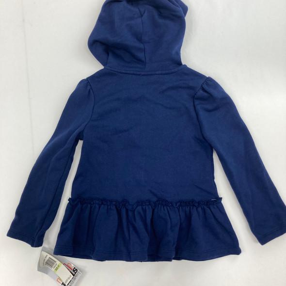 Navy Fleece Sweater 4T