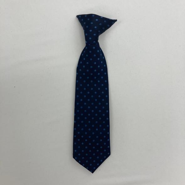 Polka Dot Clip On Tie