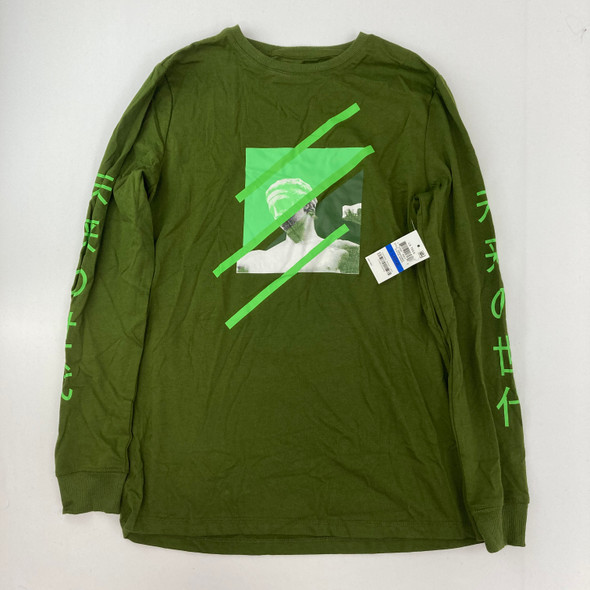 Army Green Top XL