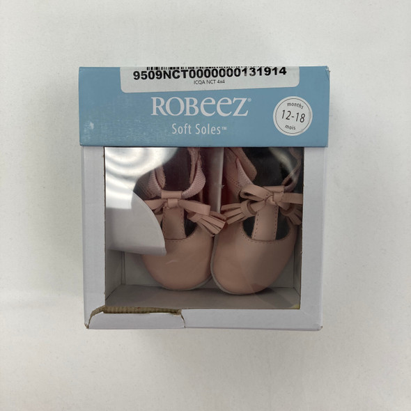 Pink Soft Soles Shoes 12-18 mth