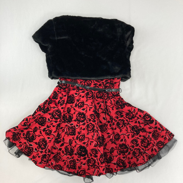 Floral Dress With Jacket 8 yr