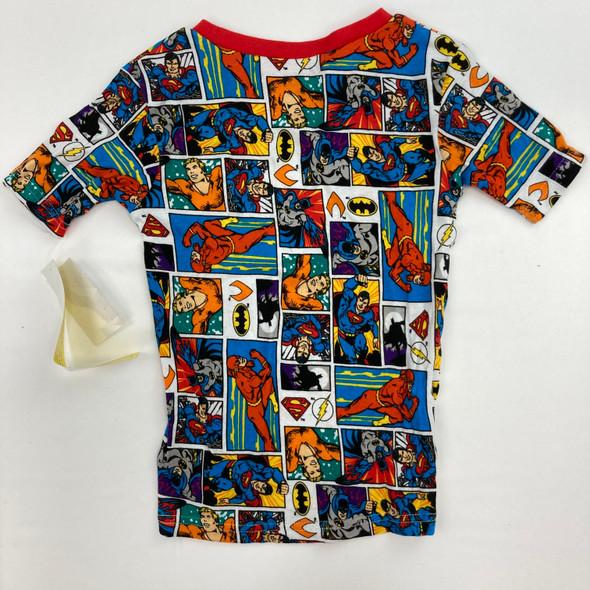 Justice League Comics Pajama Top 8 yr