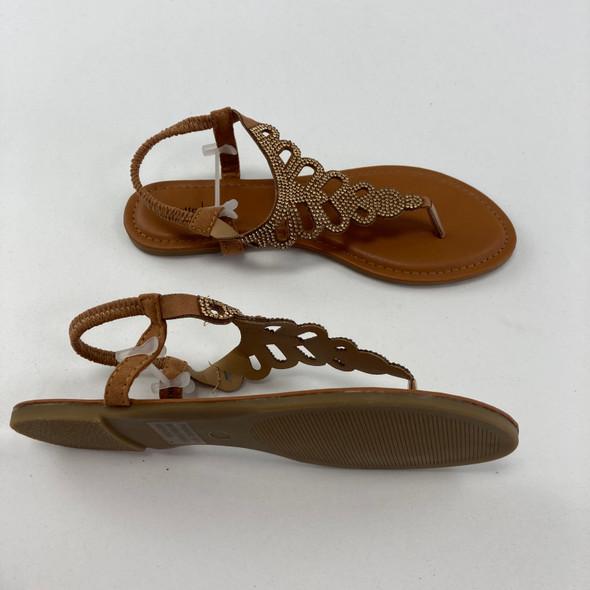 Tan Summer Sandals 4