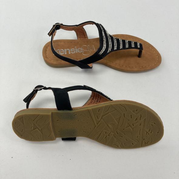 Black Summer Sandals 4