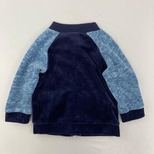 Blue Sweatshirt 6-9 mth