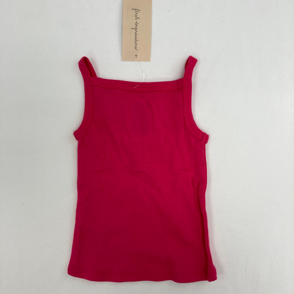 Pink Baby Tank Top 3-6 mth
