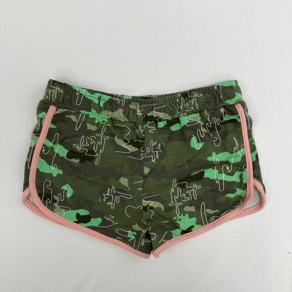 Green Camo Shorts 4T