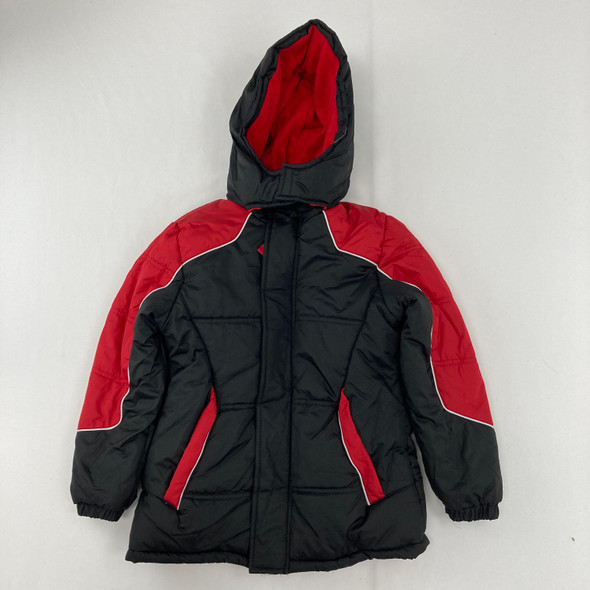 Red Colorblock Jacket 7 yr