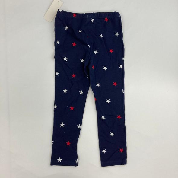 Navy Star Leggings 4T
