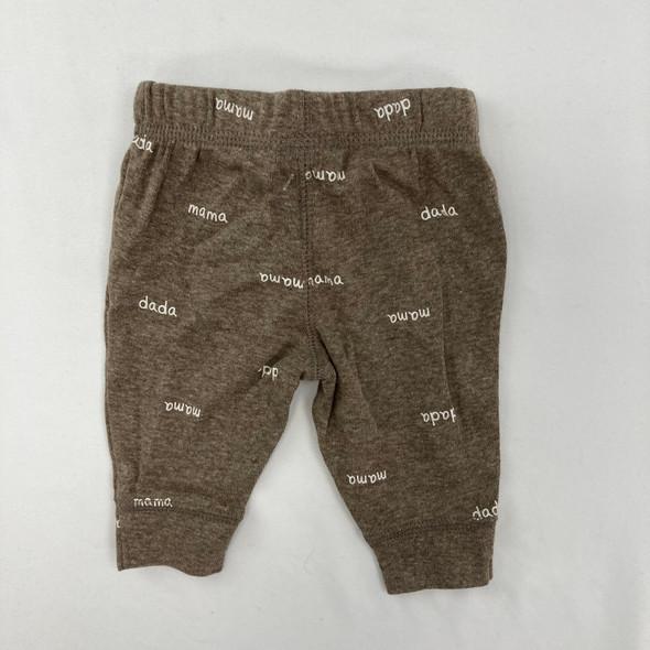 Brown Jogger Pants NB