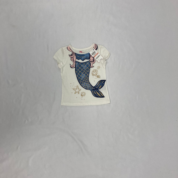 Glitter Mermaid Top 2T