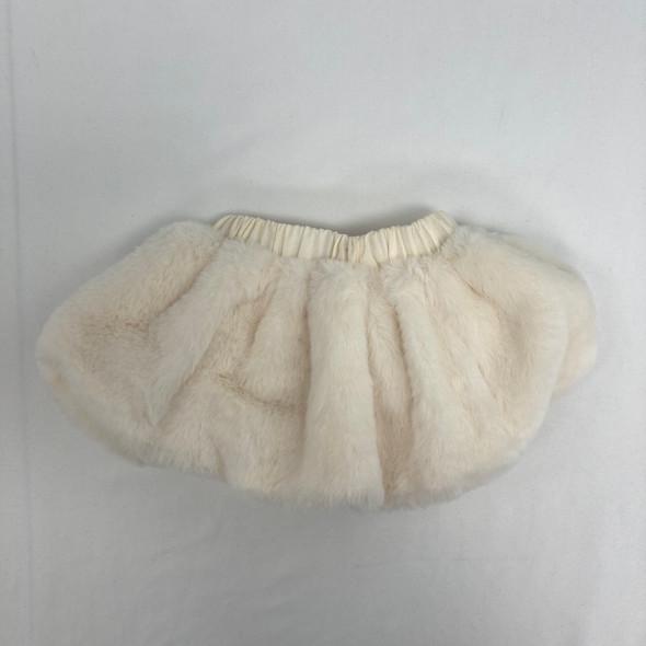 Ivory Fluffy Skirt 0-3 mth