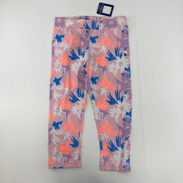 Floral Print Leggings XL