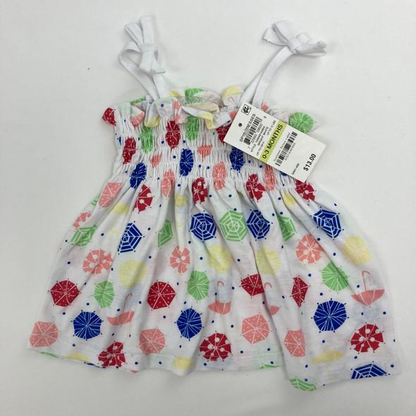 Colorful Umbrella Dress 0-3 mth